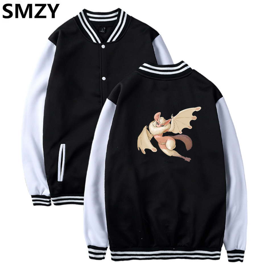 SMZY MWH Baseball Jacket Hoodies Men Sweatshirts Casual Fashion APRG Monster Hunter World Funny Japan Game Winter Jacket Men