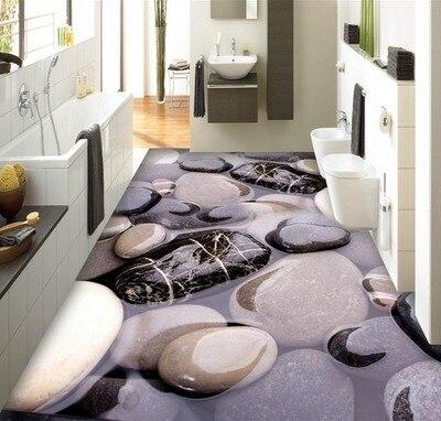Cobblestone 3D Rugs Bathroom Corridor Carpets Aisle Stairs Carpet Bedroom Hallway Rug Bedside Entrance Home Wedding Non-slip Mat