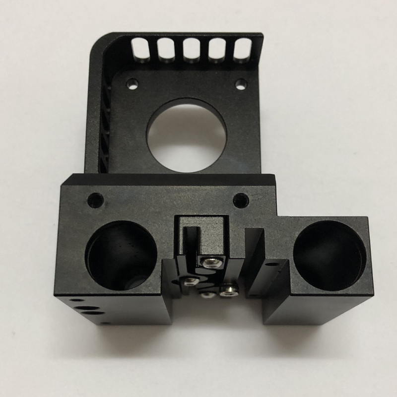 3D printer X shaft slider compatible with E3D Titan Aero / Prusa I3 / MK2 printer extruder full metal CNC technology
