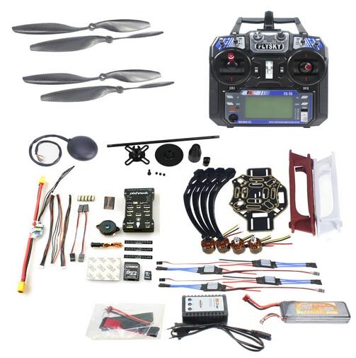 F02192-AC DIY FPV Drone Quadcopter 4-essieu Avions Kit 450 Cadre PXI PX4 Vol Contrôle 920KV Moteur GPS FS-i6 émetteur