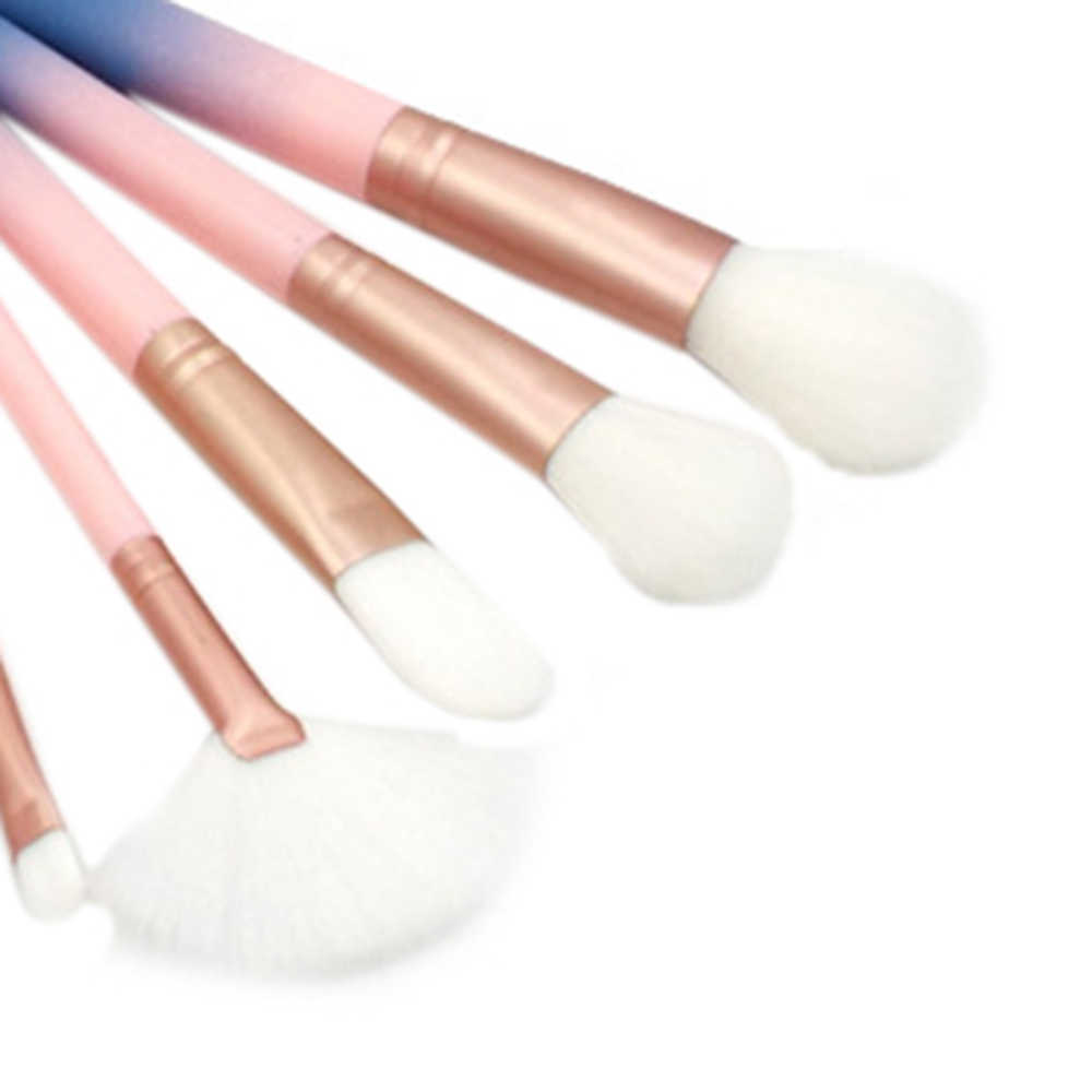 Gradient Color 12pcs/set Makeup Brushes Portable Powder Foundation Eyeshadow Brush Kits Cosmetic With Storage Box