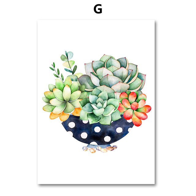 AFFLATUS-Cactus-Succulent-Plant-Canvas-Painting-Nordic-Poster-Wall-Art-Prints-Watercolor-Wall-Pictures-For-Living.jpg_640x640 (6)