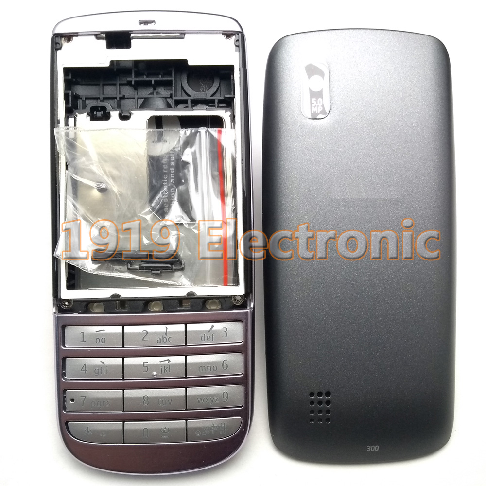 Case Russian-Keypad Nokia Mobile-Phone-Housing-Cover New with English Or 300--Tool Full-Complete