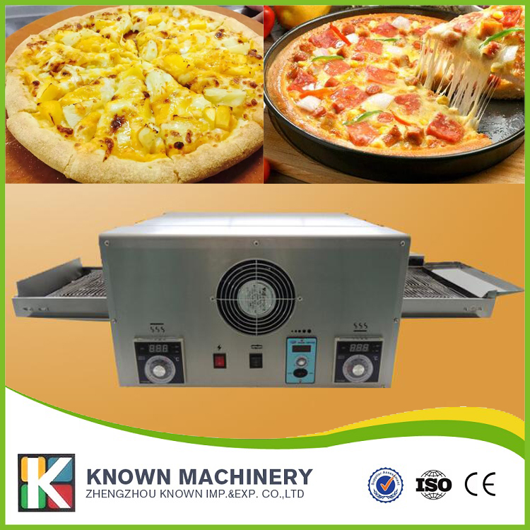 The best selling stainless steel food grade 6400W KN-12 Electric conveyor pizza oven with free shipping 1000g food grade guar gum powder free shipping