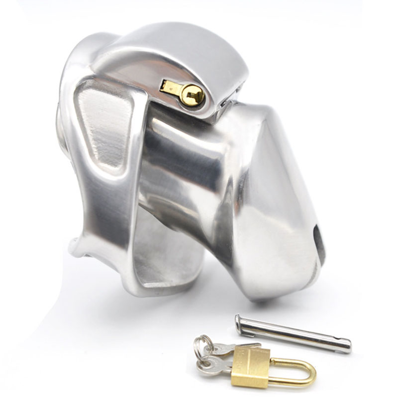 Heavy-Type Cock Cage Stainless Steel Male Chastity Device CB6000s Short Metal Penis Cage Sex Toys For Men Dick Lock Bondage mitsubishi heavy srk28hg s