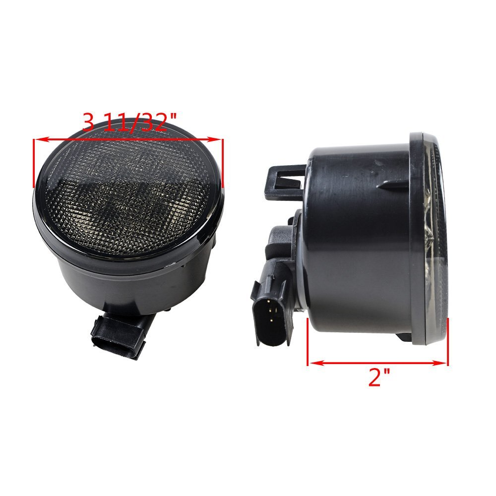 For Jeep LED Headlight 7 LED Headlamp with White Halo&Amber turn signal light&DRL lamp 7inch LED Projector Head Lamp - 3