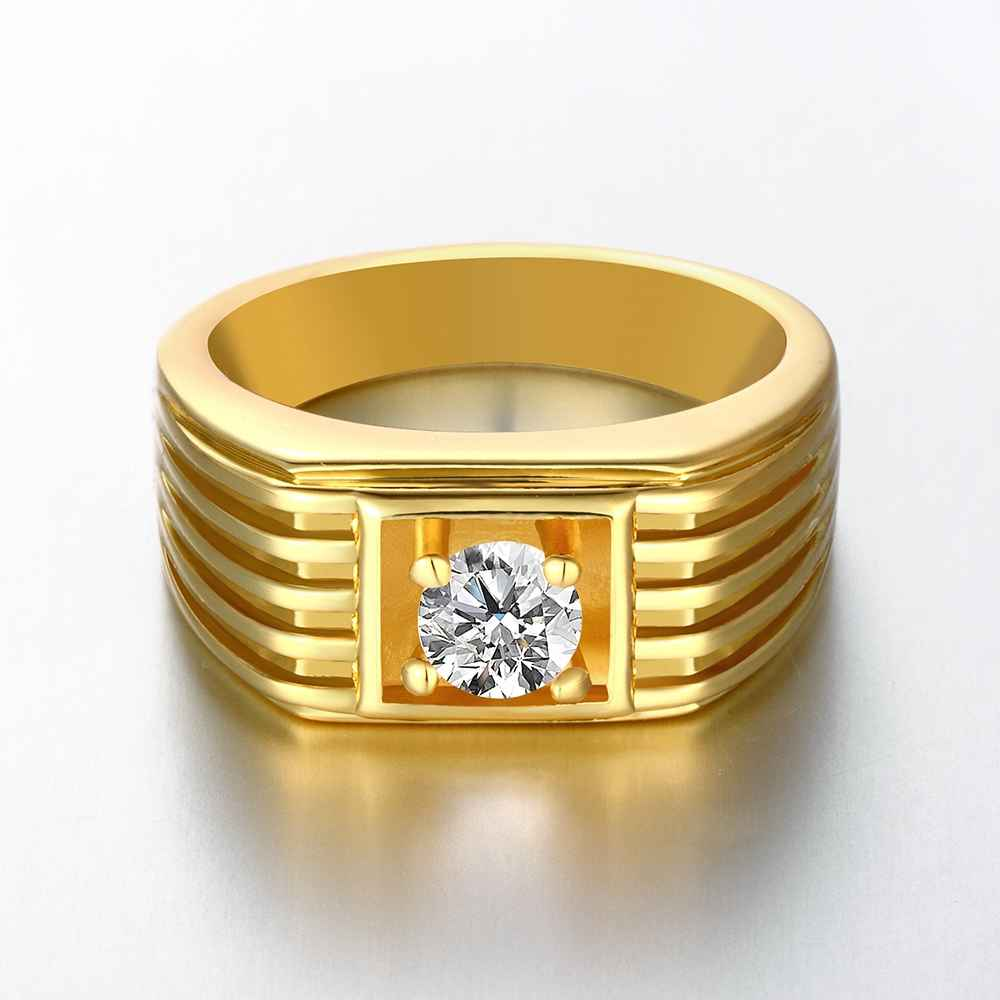 Online Shop Best Gift Accessories Para Mulher Ring Rose Yellow