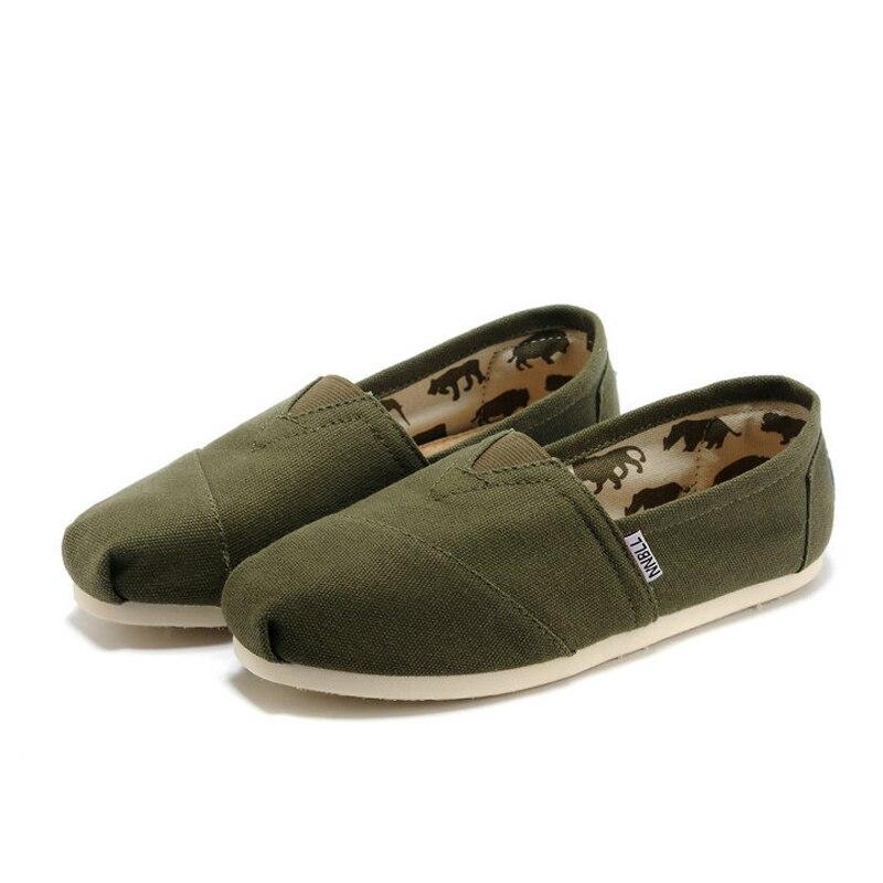 2018 women's flats shoes canvas shoes espadrilles for women size 35-45 big size
