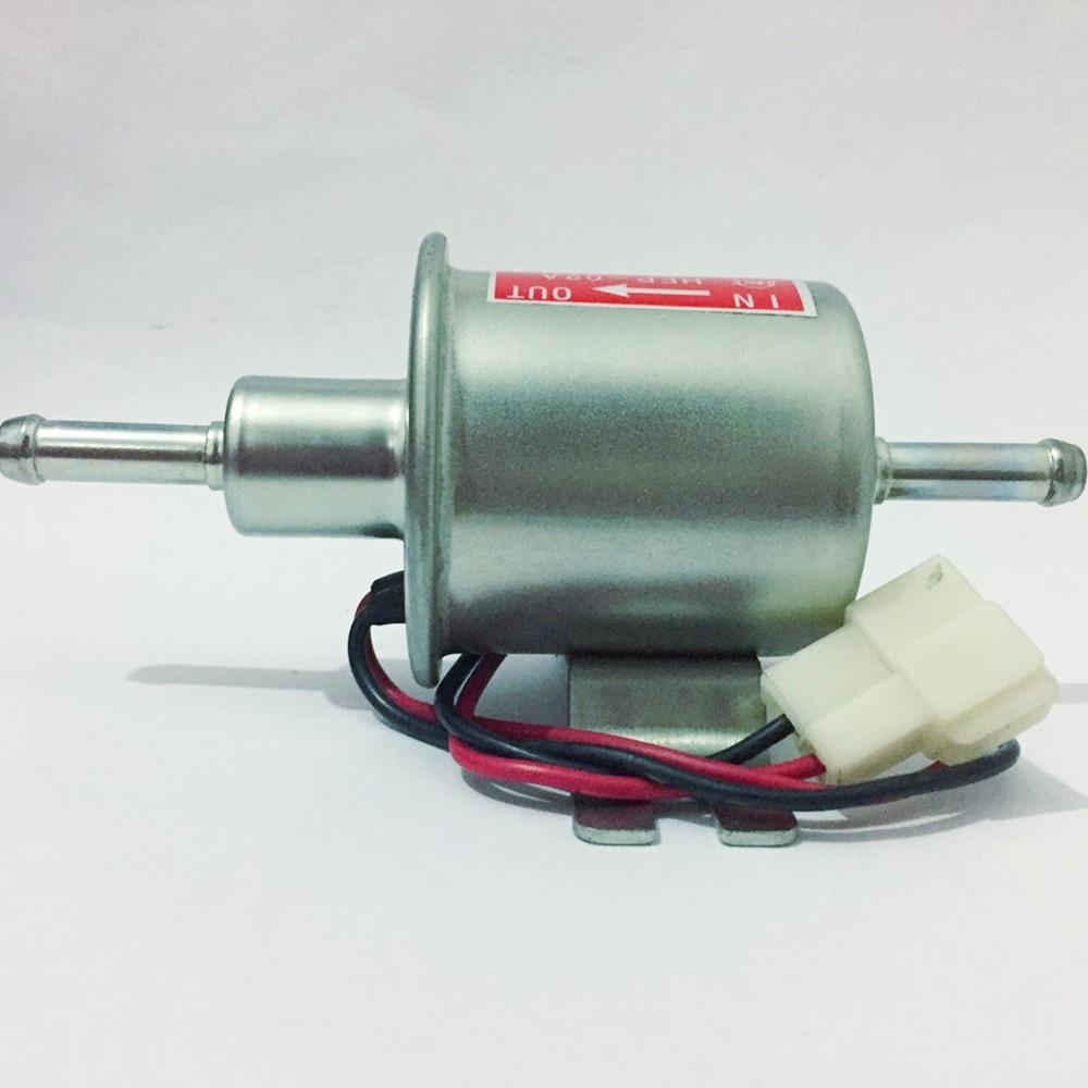EN VENTA Bombas de combustible eléctricas de baja presión universal de 12 V HEP-02A para carburador, motocicleta, ATV