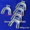 400 unids/lote plástico termoformado boca dientes dental teeth whitening bandejas