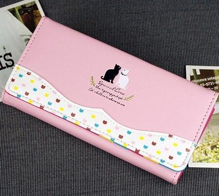e ms doces cor carteira, Interior : Bolsa de Zíper, note Compartment, suporte de Cartão