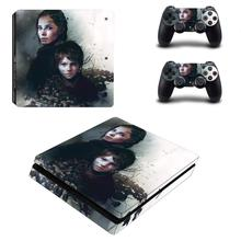 A Plague Tale Innocence PS4 Slim Skin Cover Sticker Decal Vinyl for Playstation 4 PS4 Slim Skin Console and 2 Controllers