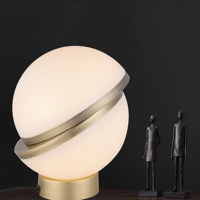 Us 172 04 40 Off Modern Table Lamp For Living Room Contemporary Desk Lamp Bedside Lamp Lampara De Mesa Metal Plating Table Lamp Designer S Choice In