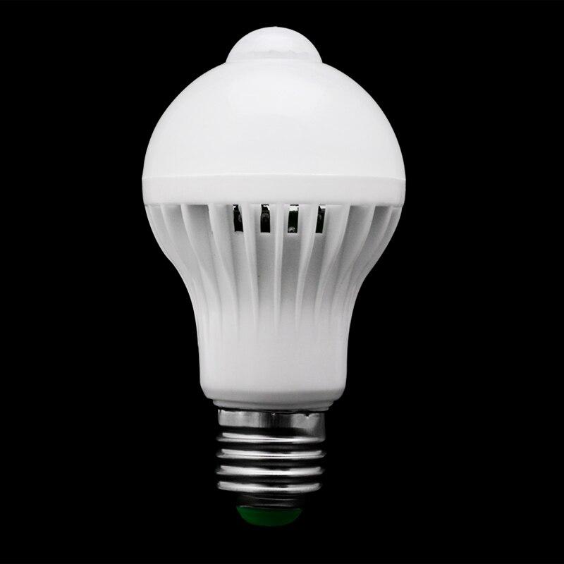E27 5W 7W 9W LED PIR Motion Sensor Auto Energy Saving Light Lamp Bulb Infrared H02