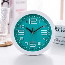 Alarm clock Creative personality student bedside bedroom childrens desk clocks mute watch cute cartoon simple alarm