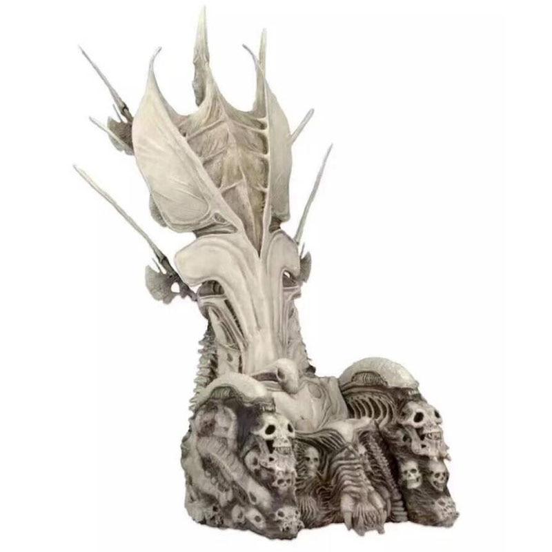 NECA Original prédateurs chef de Clan trône PVC Figure modèle Collection jouets