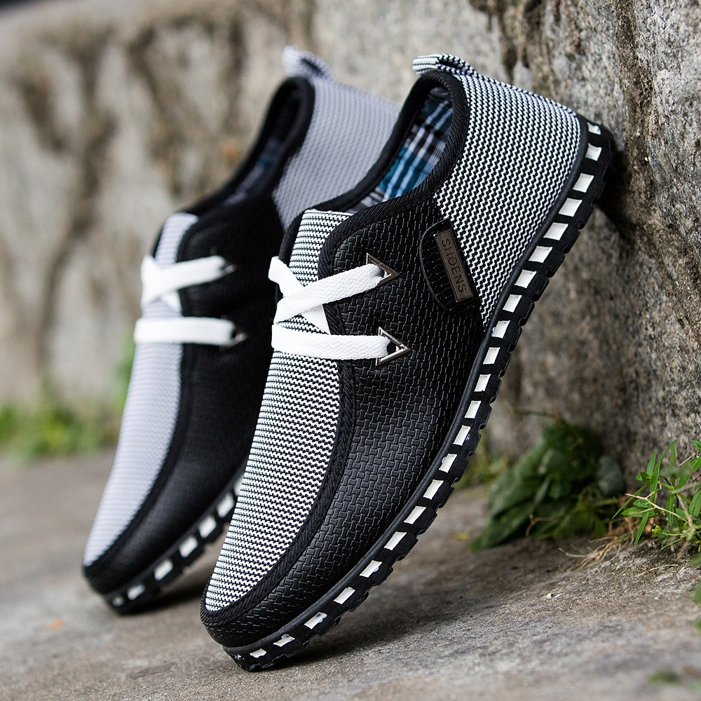 Smart Hottest Lace Up Suede Men Leisure Flats Shoes Outdoor Casual Running Casual Male Shoes Low Top Round Toe Man Footwear Shoes Rich And Magnificent Men's Casual Shoes