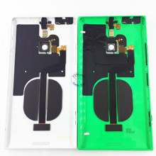 Original New Battery Door Cover Rear Back Housing Case + NFC with Buttons with Logo for Nokia Lumia 1520 Replacement Parts