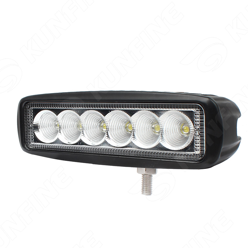 6.3 inch 18W LED Work Light 12V~30V DC LED Driving Offroad Light For Boat Truck Trailer SUV ATV LED Fog Light Waterproof 1pcs 120w 12 12v 24v led light bar spot flood combo beam led work light offroad led driving lamp for suv atv utv wagon 4wd 4x4