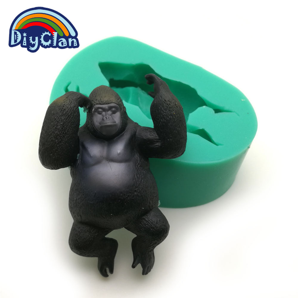 King Kong Modeling Silicone Chocolate Molds For Cake