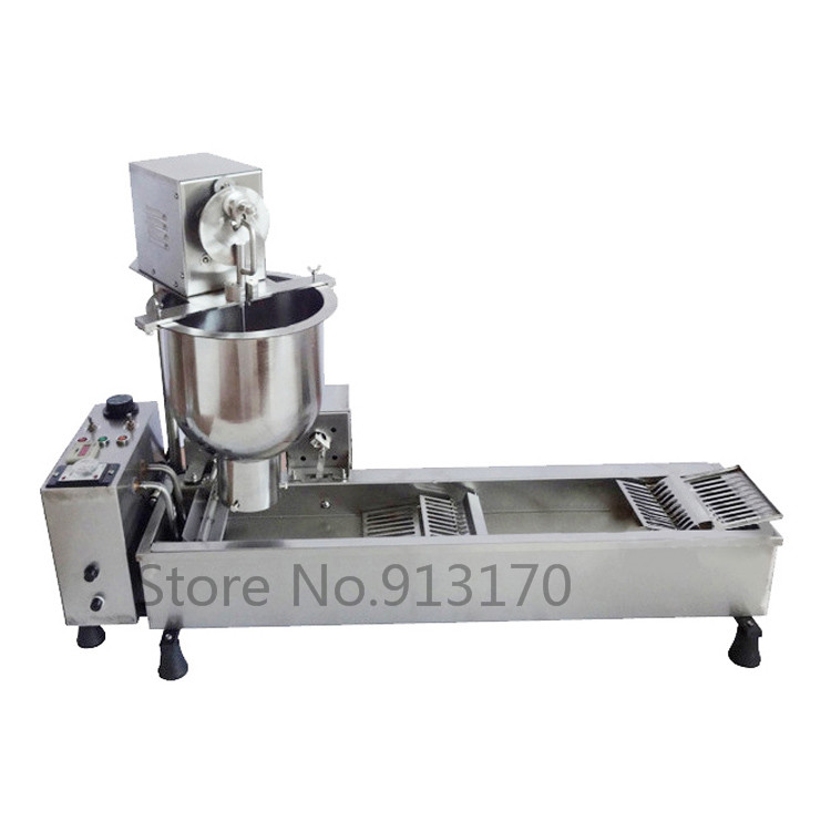 Automatic Doughnut Machine Stainless Steel Mini Auto Donut Machine Production Line Commercial Capacity 300~500 pcs/h 6 pcs time yeast donut machine stainless steel industrial mini donut machine for commercial page 5 page 3