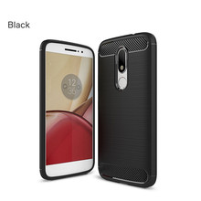Phone Case For Moto X4 E3 E4 G4 G5 G5s Plus Carbon Fiber Texture Brushed Soft TPU Silicone Cover For Moto M C Z2 Force Z Play все цены