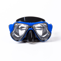 2017 High Quality Silicone Swimming Mask Goggle Myopia Diving Mask Prescription Lens Professional Tempered Glass Scuba