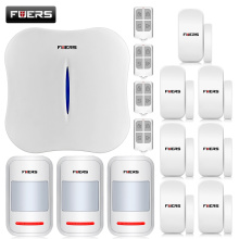 2016 New  W1 WIFI Home Burglar Security Alarm System PSTN Intelligent Alarm Android IOS APP Control Voice Prompt Alarm Kit
