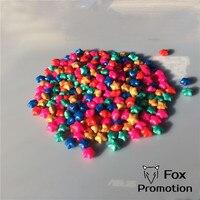 500gram 900pcs Sealing Wax Pill Beads Plastic Packing Vintage STAR Sealing Wax Stamp Wax Paint Wax