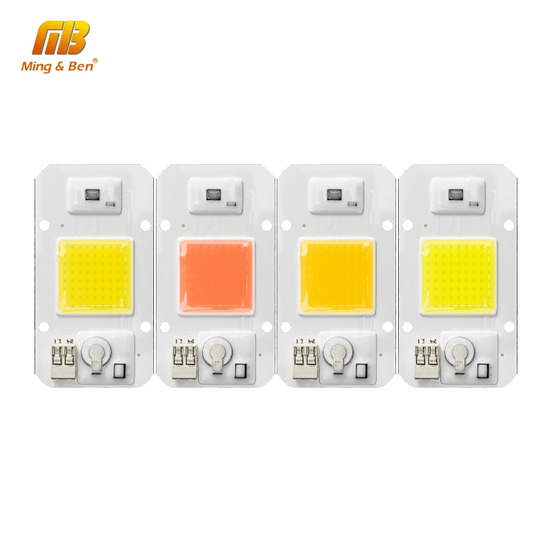 5PCS LED Chip Dimmable Light 20W 30W 50W 220V 110V Smart IC DIY For LED Outdoor Floodlight Spotlight High Quality LED Beads