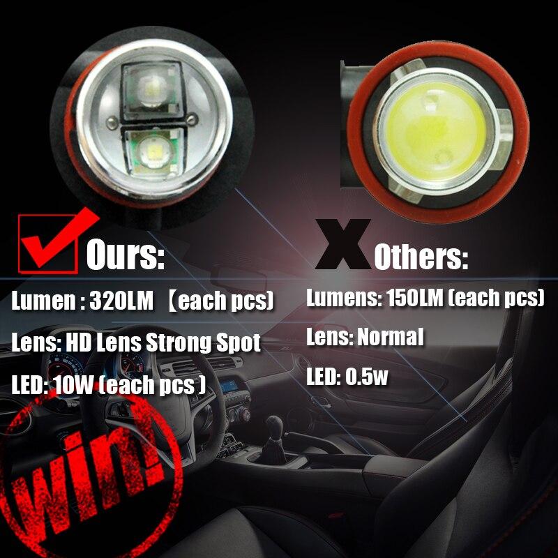 AutoEC 2 x LED svjetla za maglu H11 16w s velikom snagom automobila - Svjetla automobila - Foto 4