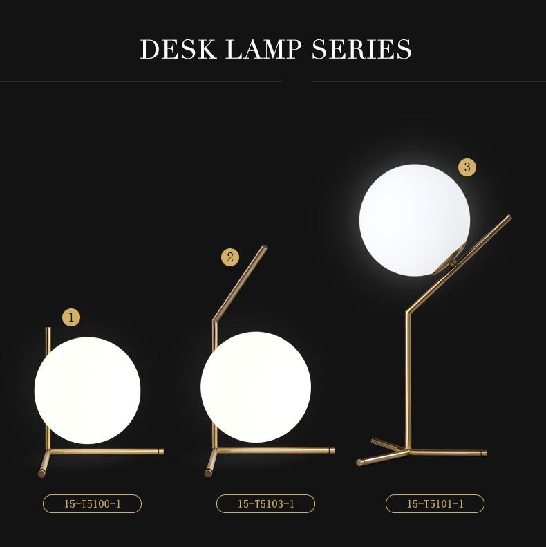 Modern LED Table Lamp Desk Lamp Light Shade Glass Ball Table Lamp Desk Light for Bedroom Living Room Floor Conner Gold Designs (23)