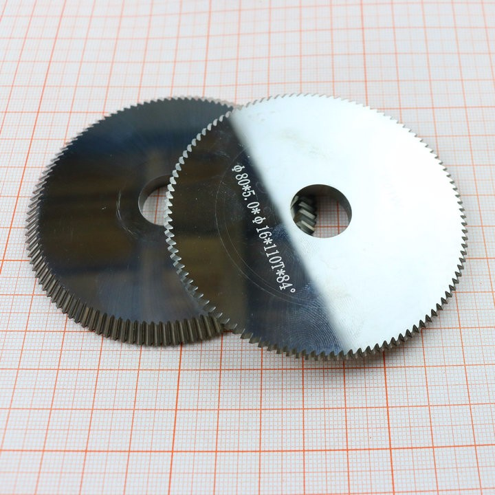 P01W D704861ZB Carbide Tungsten Key Blade Cutter 80*5*16mm*110T Saw Blade For SILCA BRAVO, BIANCHI,key Cutting Machines
