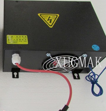 80W CO2 Laser Power Supply for CO2 Laser Engraving Cutting Machine HY-T80 co2 laser machine laser path size 1200 600mm 1200 800mm