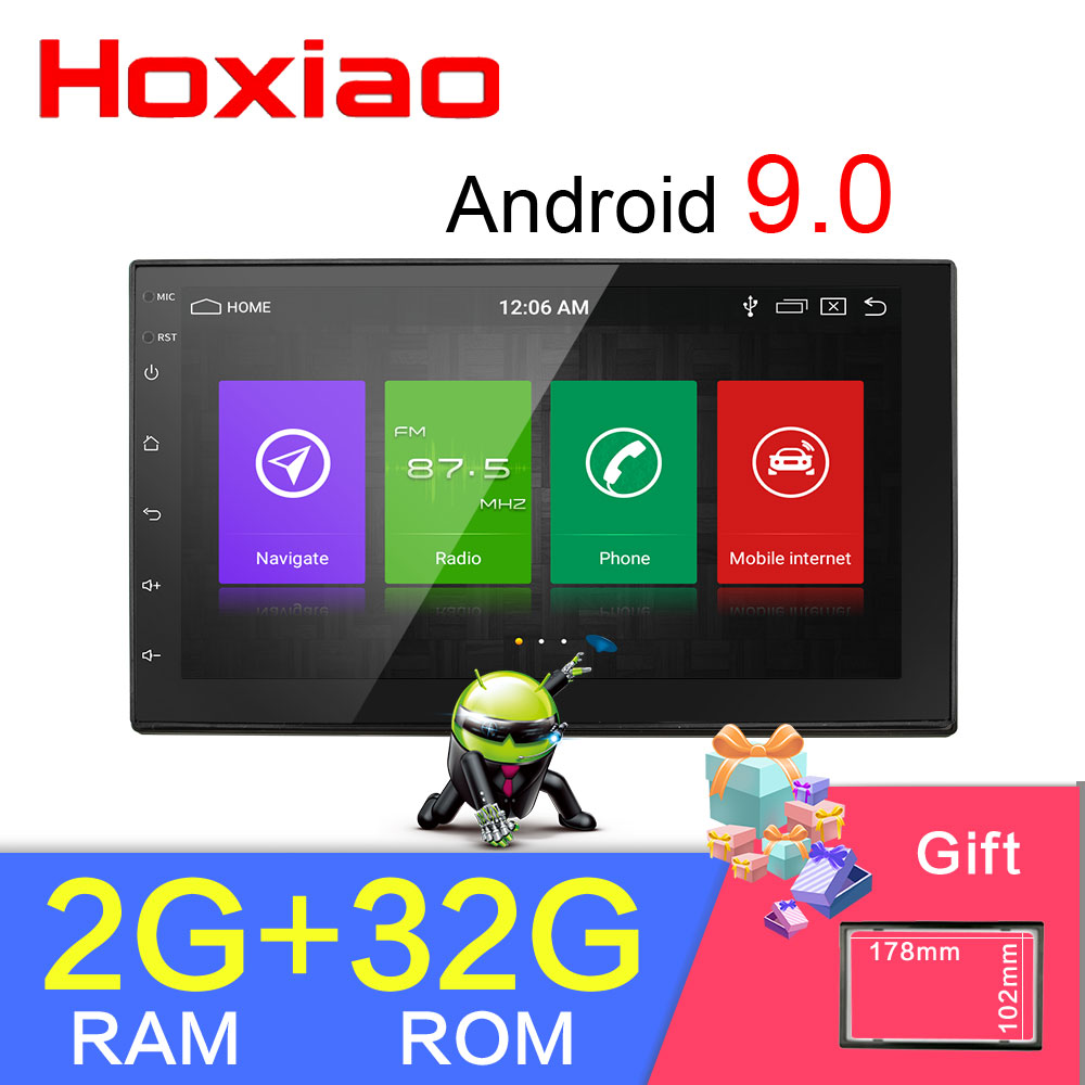 2 din car Android 8 1 RAM 2G ROM 32G GPS Navigation Bluetooth For Nissan VW
