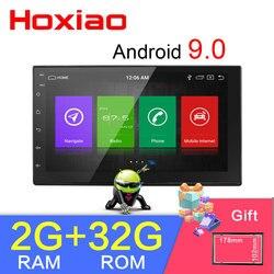 2 din Автомобильный Android 8,1 RAM 2G ROM 32G GPS навигация Bluetooth для Nissan VW Toyota WiFi мульти-медиа 7 дюймов Автомобильный радиоприемник плеер