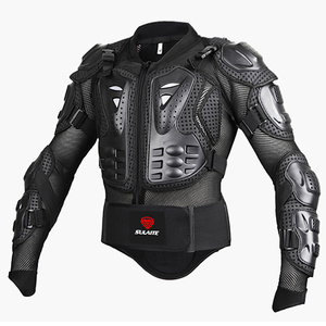 Image 2 - Black/RED Motorcycles Armor Protection Motocross Clothing Jacket Protector Moto Cross Back Armor Protector Motorcycle Jackets