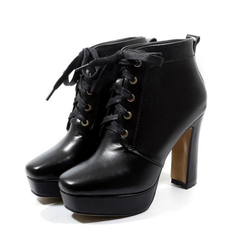 Cuculus blanco De Invierno Genuino La Cuero Cortas Moda 1168 Mujeres Tobillo Las Negro Piel Botas Zapatos Señoras pqxCpFwr