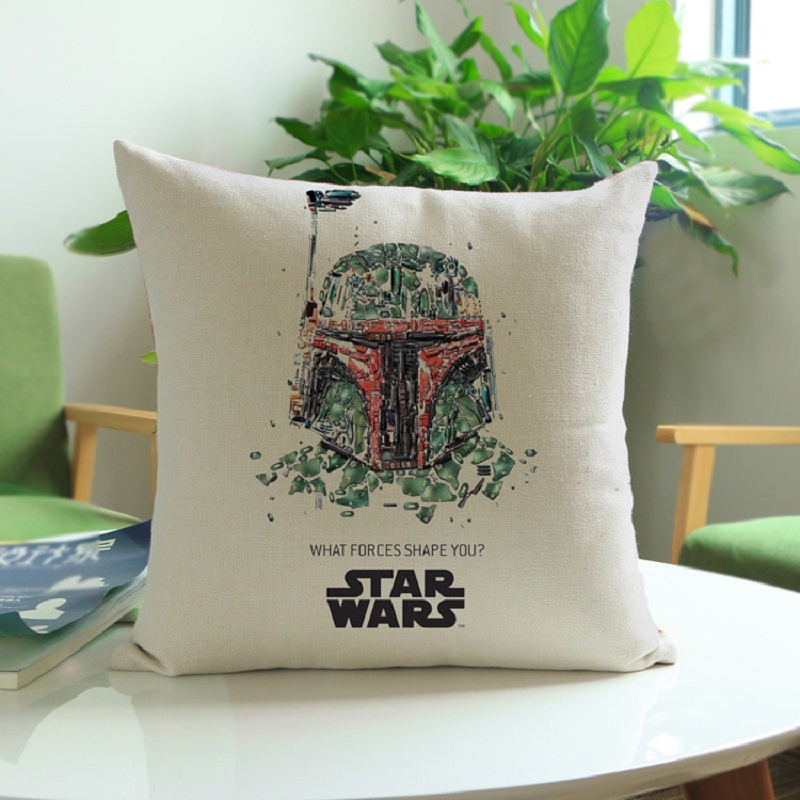 Star Wars piltidega dekoratiivsed padjapüürid