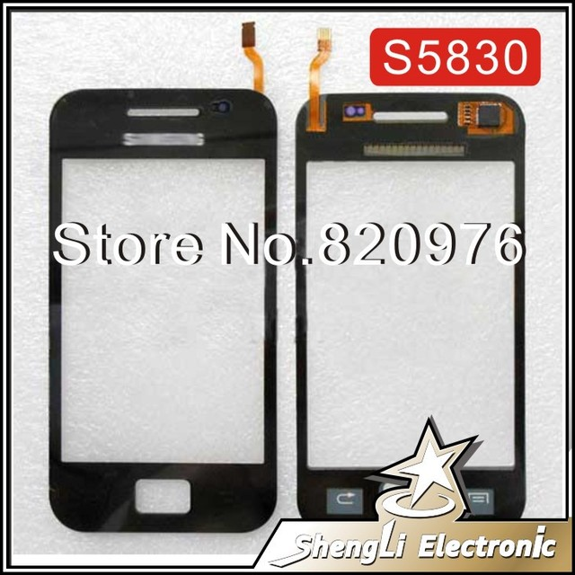 Original LCD Top Touchscreen Touch Screen Digitizer Glass Replacement For Samsung Galaxy Ace S5830 5830+ Tools+Free Shipping