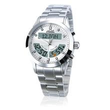 100% แหล่งกำเนิดสินค้าAzanนาฬิกาอิสลามQibla Qatchพร้อมPrayer Compassนาฬิกาของขวัญอิสลามที่ดีที่สุด,สีขาว