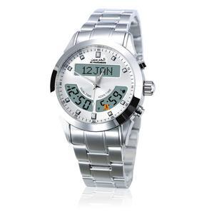 Image 1 - 100% מקור חדש אזאן שעון האסלאמי Qibla Qatch עם שעון מצפן תפילה אסלאמיות הטובות ביותר מתנות, לבן חיוג