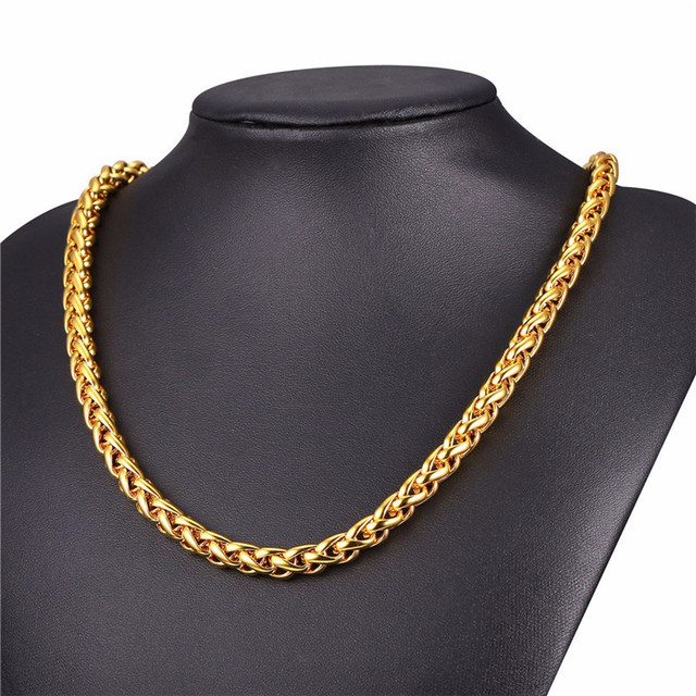 LUFANG 2019 Design Fashion Jewelry Hip Hop Chain Necklace 3 mm Exaggerated Personality Long Stainless Steel Necklace For Man 1