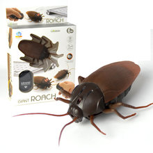 High Simulation Animal Cockroach Infrared Remote Control Kids Toy Prank toys Stress Relieving Fun Gift April Fool's Brinquedos(China)