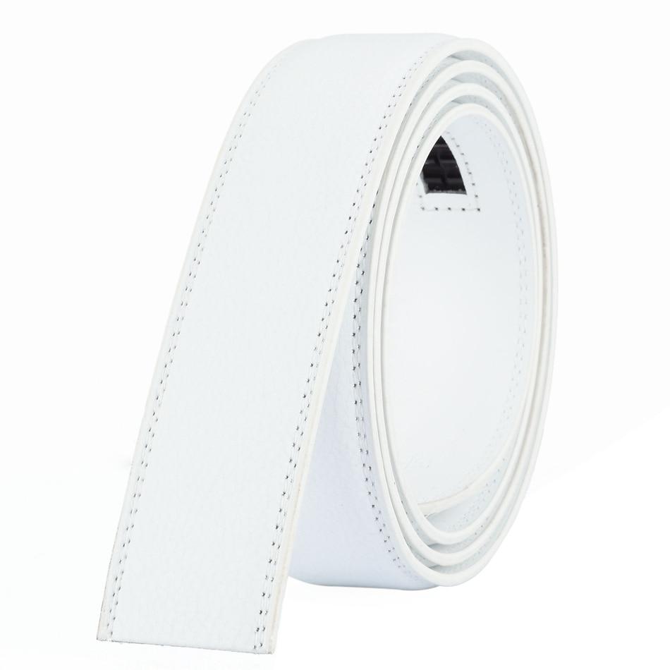 WOWTIGER Designer Fesyen 3.5cm Belt Kulit Mewah Lelaki Belt automatik - Aksesori pakaian - Foto 5