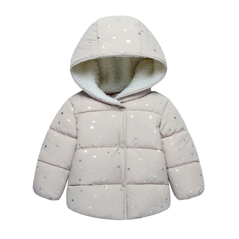 Baby Girl Clothes Winter Down Jacket Windbreakers For Girls Cotton-Padded Coat Cold Weather Roupa Infantil Menina 0-6 Anos TZ62