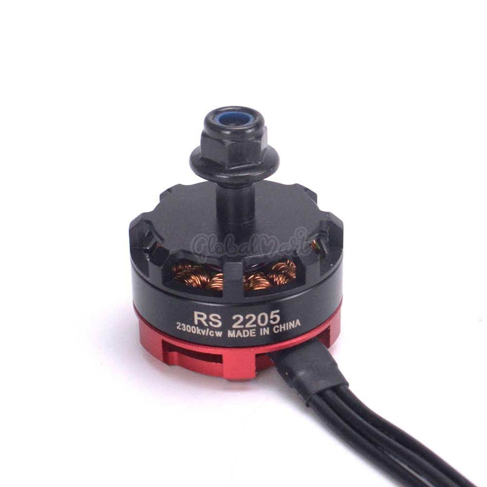 RS2205 2300KV 2205 CW CCW Brushless Motor 3-4S for FPV Racing Quad Motor FPV Multicopter Robocat 270
