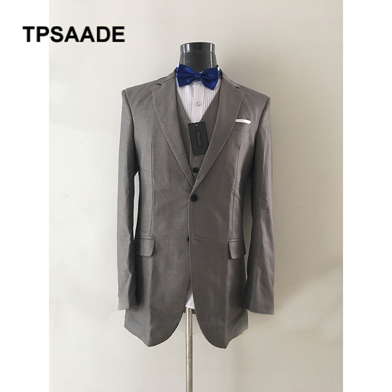 7467a63e56 Chaleco Clásico Terno Pantalones Traje Color Boda Trajes Negocios Lujo traje  As custom as Masculino Unidades ...