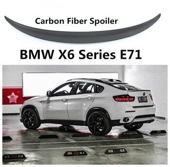 Спойлер из углеволокна для BMW X6 E71 2008-2014 высококачественные Спойлеры Авто Модификация аксессуары по EMS