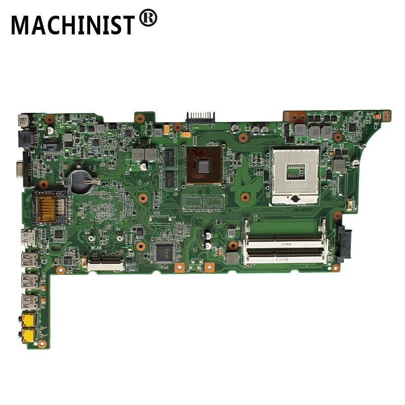 Original  For ASUS K73SJ K73SM K73SV K73SD A73S X73S laptop motherboard GT520M 1G REV 2.3 HM65 DDR3  100% fully Tested